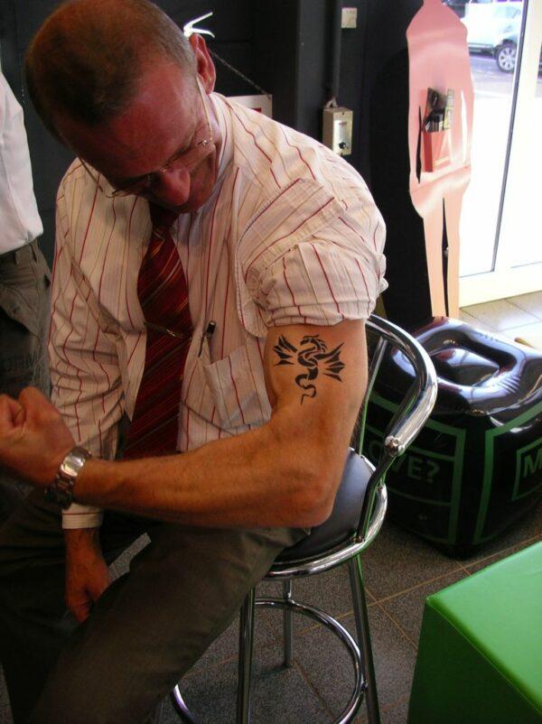 Airbrush Tattoos Alternative Kinderschminken