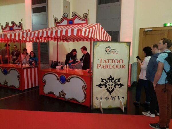 Airbrush Tattoos Buchen Nostalgiestand Final Fantasy Festival