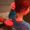 Airbrush Tattoos Hautfreundliche Latexfarbe