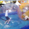 Aqua Water Walking Ball Wasserlaufball Einzelanmietung ohne Wasserbecken