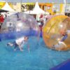 Aqua Water Walking Ball Wasserlaufball für Freibad Schwimmbad Poolparty mieten
