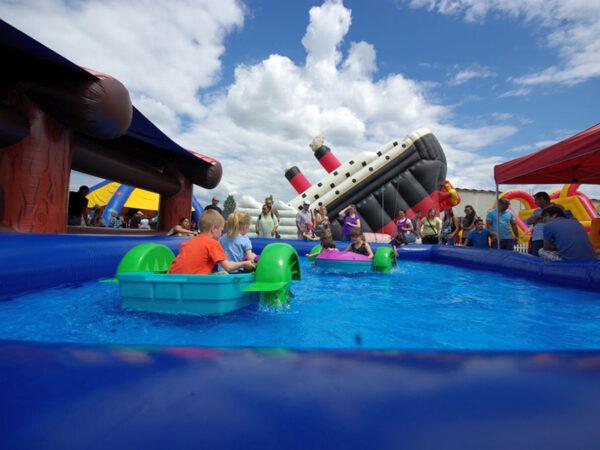 Aquapaddler Miniboote mieten