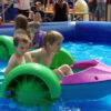 Aquapaddler mobiler Pool mit Paddelbooten für Kinder