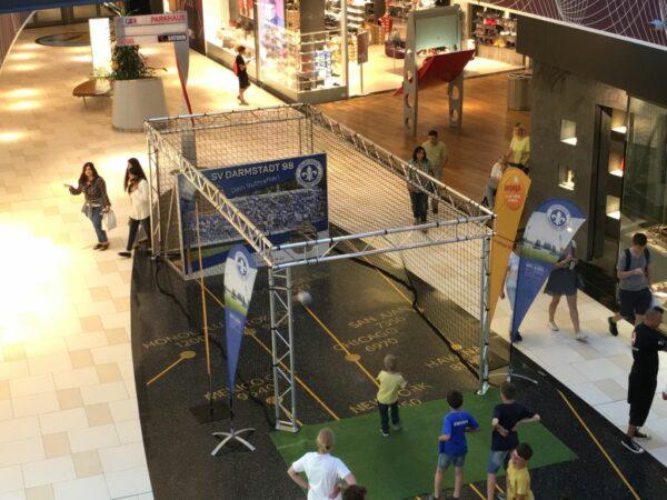 Ballfangkaefig Torwand Ballfangnetz Vermietung