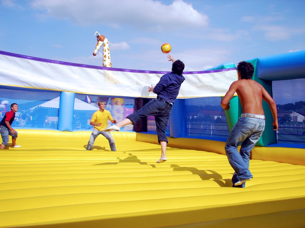 Beach Volleyball Arena mobil