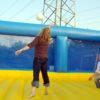Beach Volleyball Arena mieten Netzanlage Volleyballfeld aufblasbar
