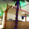 Beachparty Cocktailbar mieten Bambusbar Piratenbar