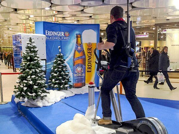 Biathlonsimulator Einzelmodul Crosstrainer mieten