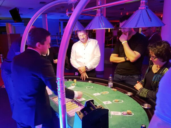 Black Jack Tisch mieten mobiles Casino