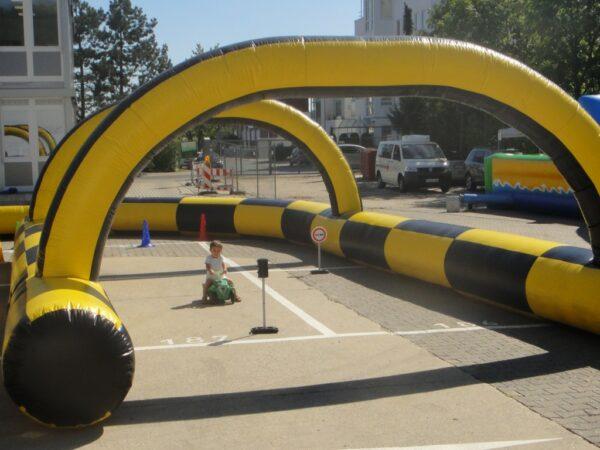 Bobby-Car-Fahrschule Kinderführerschein für Bobbycars