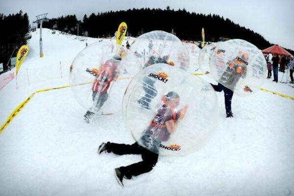 Bubble Soccer Bubble Fussball Bumper Balls ausleihen