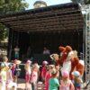 Bühnenanhänger mobile Bühne mieten Aufbau in unter 40 min