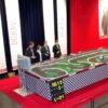 Carrera Rennbahn Komplett Aufbau Firmenfeier Riesen spass Verpachtung