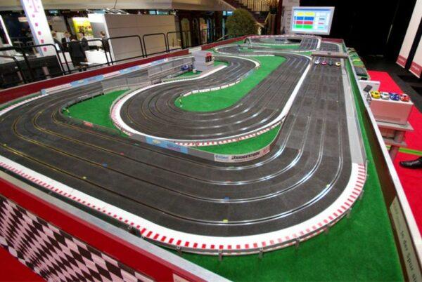 Carrera Rennbahn Resnnsport Mieten Firmenjubiläum