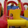 Challengeparkour Kinderfreude Wettlauf Springburg Vermietung