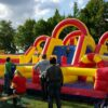 Challengeparkour Kitasommerfeier Kids Fun Action Vermietung