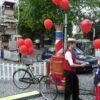 Dampf Velo Luftballonstand Ballongas Flaschenständer