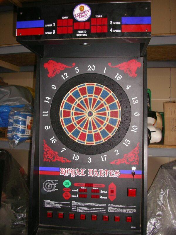 ^Dartautomat Löwen Turnier Dart HB8-96 Pachten Spieleabend Casinofeeling