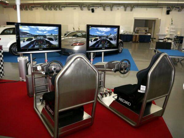 DriveSeat Fahrsimulator Single Version PKW Fahrtraining Simulator