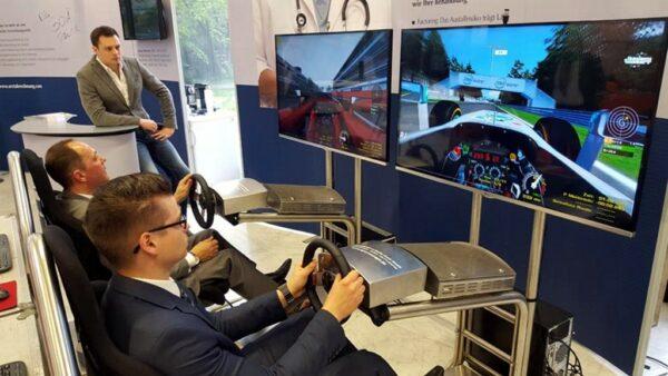 DriveSeat Fahrsimulator Single Version Rallyesimulator
