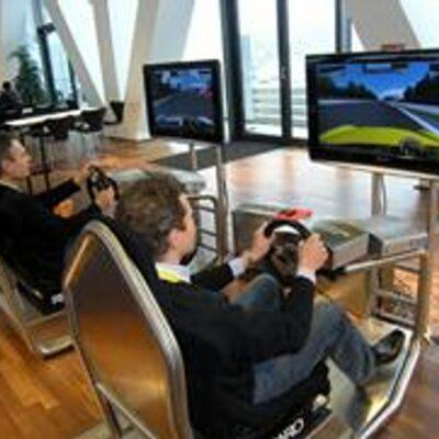 DriveSeat Fahrsimulator Twin Version Formel 1 Rennsimulator Rallye DTM Simulator PKW