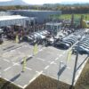 Drohnen Parcours FPV mieten Autohaus Quadrocopter
