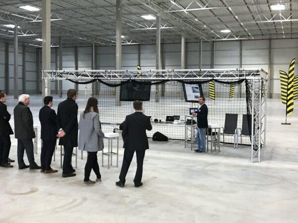 Drohnen Parcours FPV mieten Teamevent, Produktpräsentation