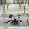 Drohnen Parcours FPV mieten mit Sicherheitskäfig aus Traversen