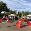 Drohnen Rennen mit Mini Fun Drohnen mieten Drone FPV Race Gates