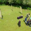 Drohnen Rennen mit Mini Fun Drohnen mieten Teambuilding Event