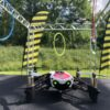 Drohnenkäfig mit Mini Fun Drohnen mieten innovative Eventtools