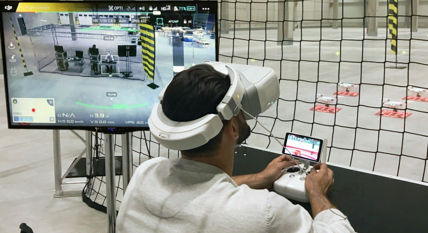 Drohnenparcours FPV mieten innovative Eventtools exlklusiv bei KTL 1980x1080