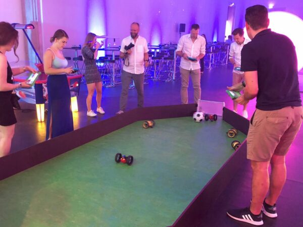 Drone Soccer mieten Eventmodul Digitalisierung
