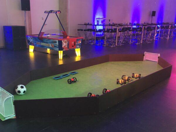 Drone Soccer mieten Mitarbeiterveranstaltung Abendprogramm