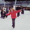 Eislaufbahn aus Kunststoff 150qm Eishockeybahn mieten