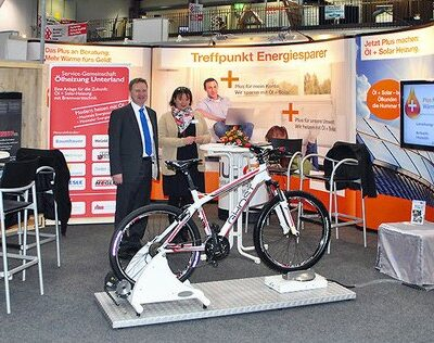 Energy Bike Screen Teamwettbewerb