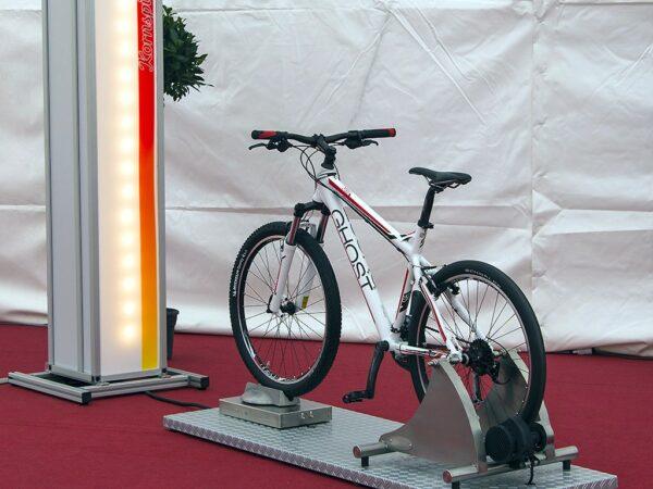 EnergyBike Licht - Fahr den Lukas Kräftemessen