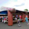 Event Dome Blockhaus mieten aufblasbare Zelte