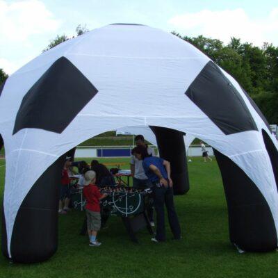 Event Dome Soccer Fussball Spiederzelt aufblasbar