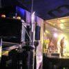 Event- Showtruck als mobile Bühne mit Liveband