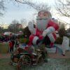 Eye Catcher Nikolaus inflatable Weihnachtsdeko Weihnachtsmann