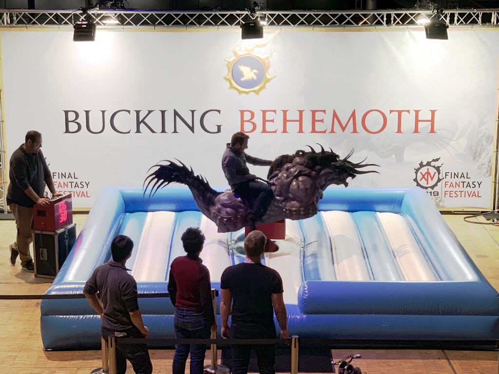 FFFF XIV Behemoth Ride