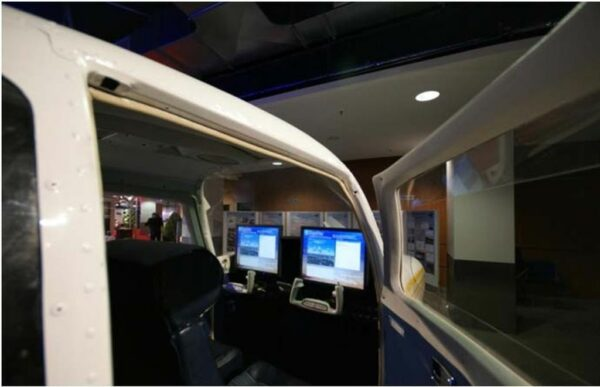Flugsimulator Cessna inmotion Cessnasimulator