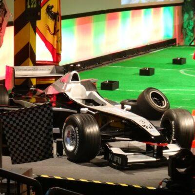 Formel 1 Boxenstopp Wettbewerb Pitstop Radwechsel