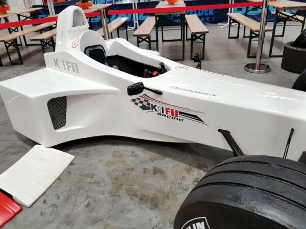 Formel 1 Challenge Simulator mieten kleines Messemodell