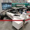 Formel 1 Challenge Simulator mieten kompakter kleiner Simulator für Messestände