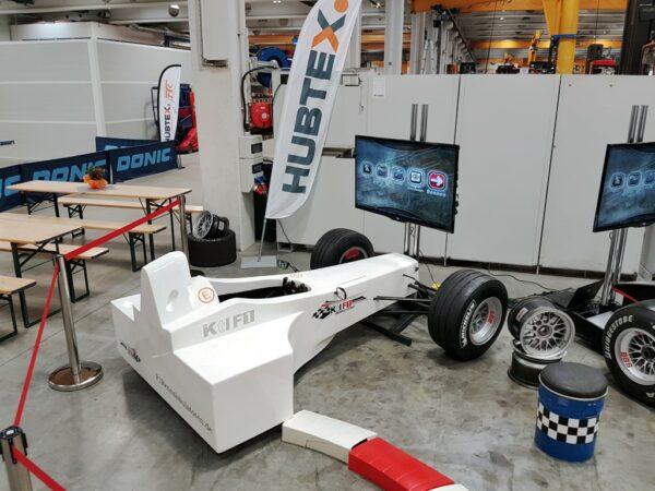 Formel 1 Challenge Simulator mieten minimaler Platzbedarf