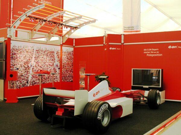 Formel 1 Dekopaket Magnesiumfelgen Rennreifen Zielflaggen