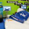 Formel-1-Racing-F1Simulator blau-weiss mieten