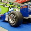 Formel-1-Racing-Simulator blau-weiss mieten F1 Simulator